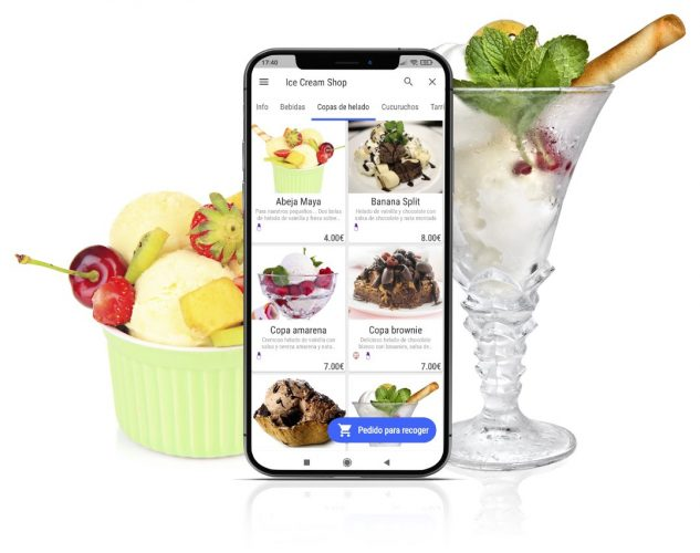 app pedidos tpv heladerias